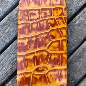 Michael Rome Croc Leather  Wallet